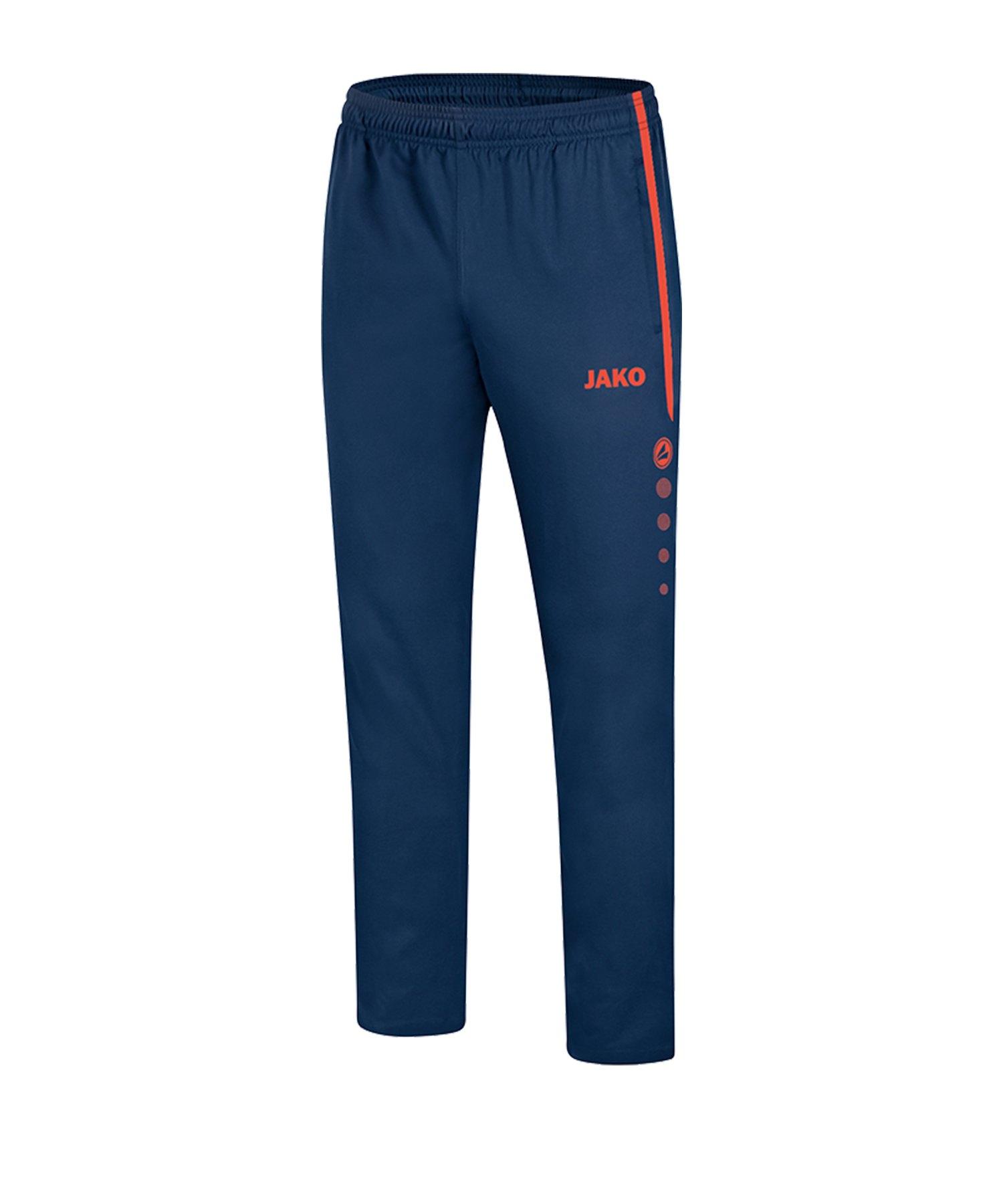 Jako Striker 2.0 Präsentationshose Blau Orange F18 - Blau