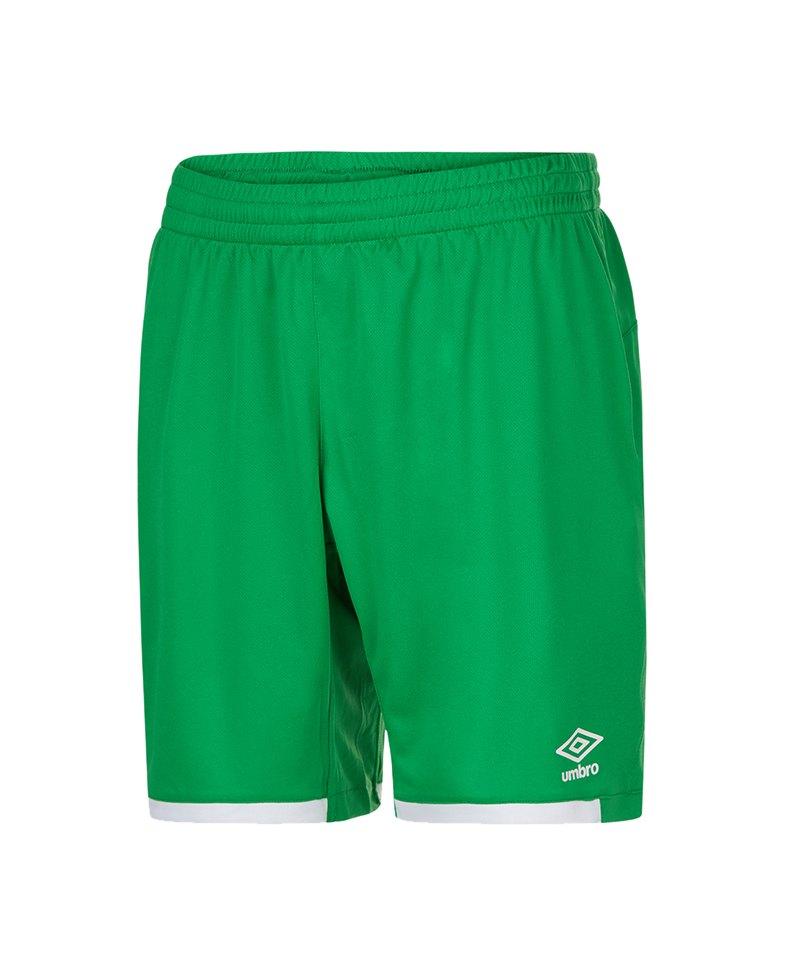 Umbro Premier Short Hose kurz Grün FEHE - gruen