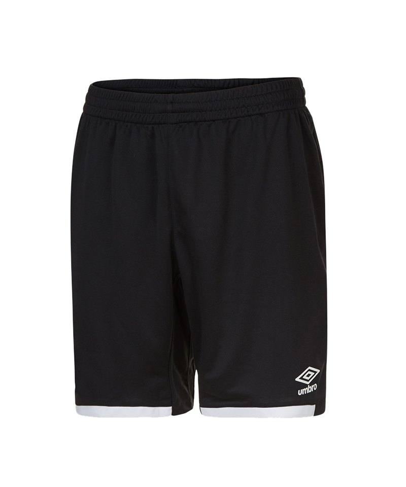 Umbro Premier Short Hose kurz Schwarz F090 - schwarz