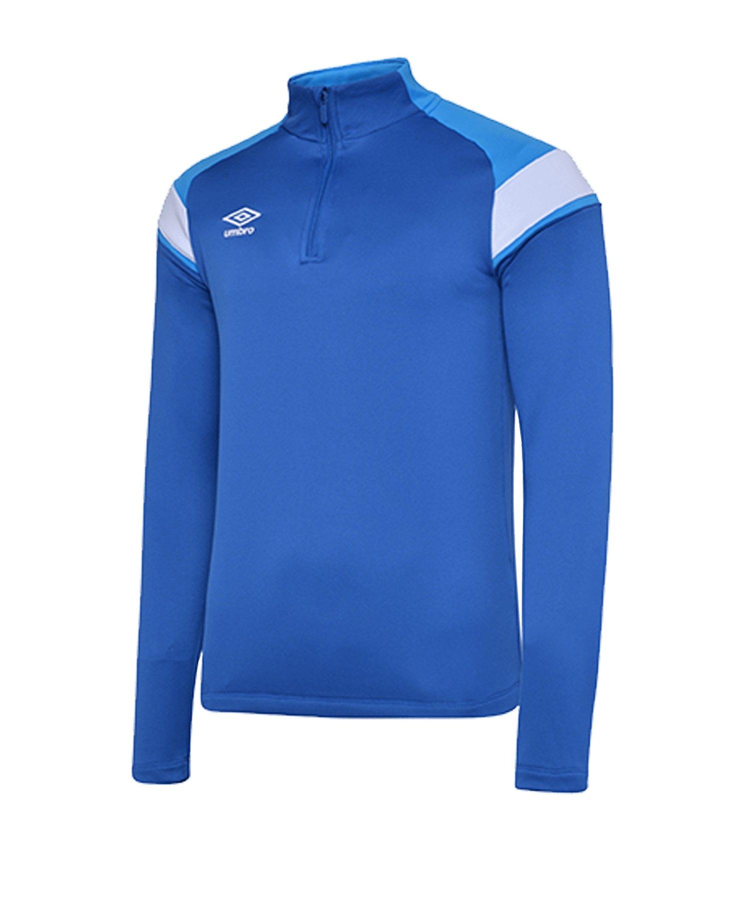 Umbro 1/2 Zip Sweatshirt Blau FGQW - blau