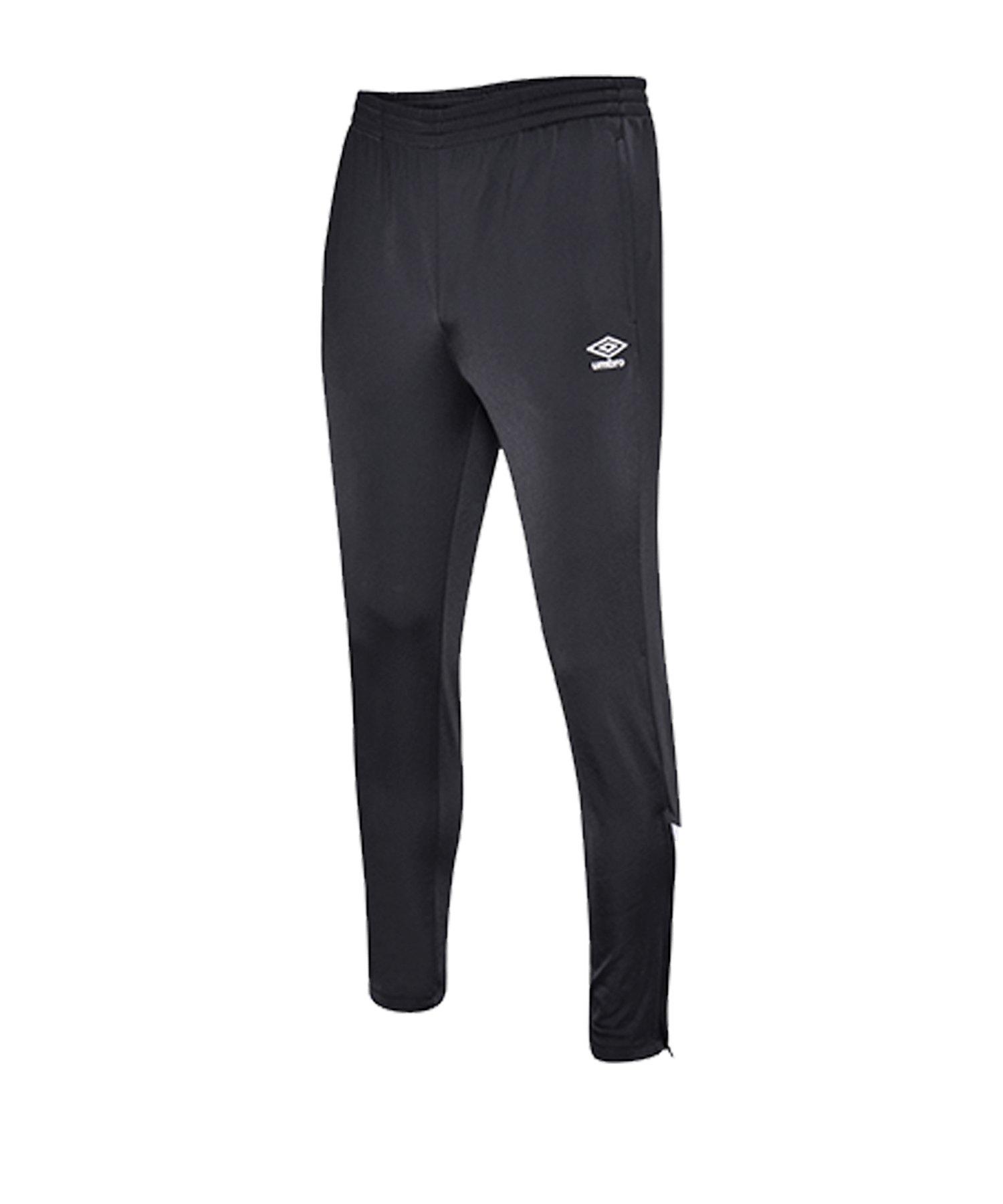 Umbro Knitted Pant Joggingshose Schwarz FFL3 - schwarz