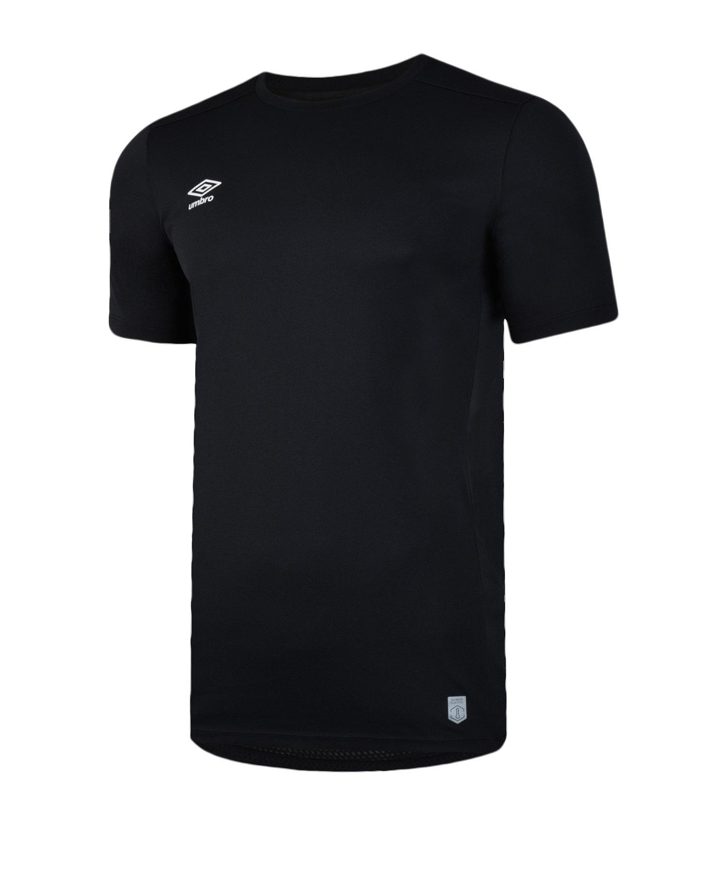 Umbro Silo Training T-Shirt Schwarz F060 - schwarz