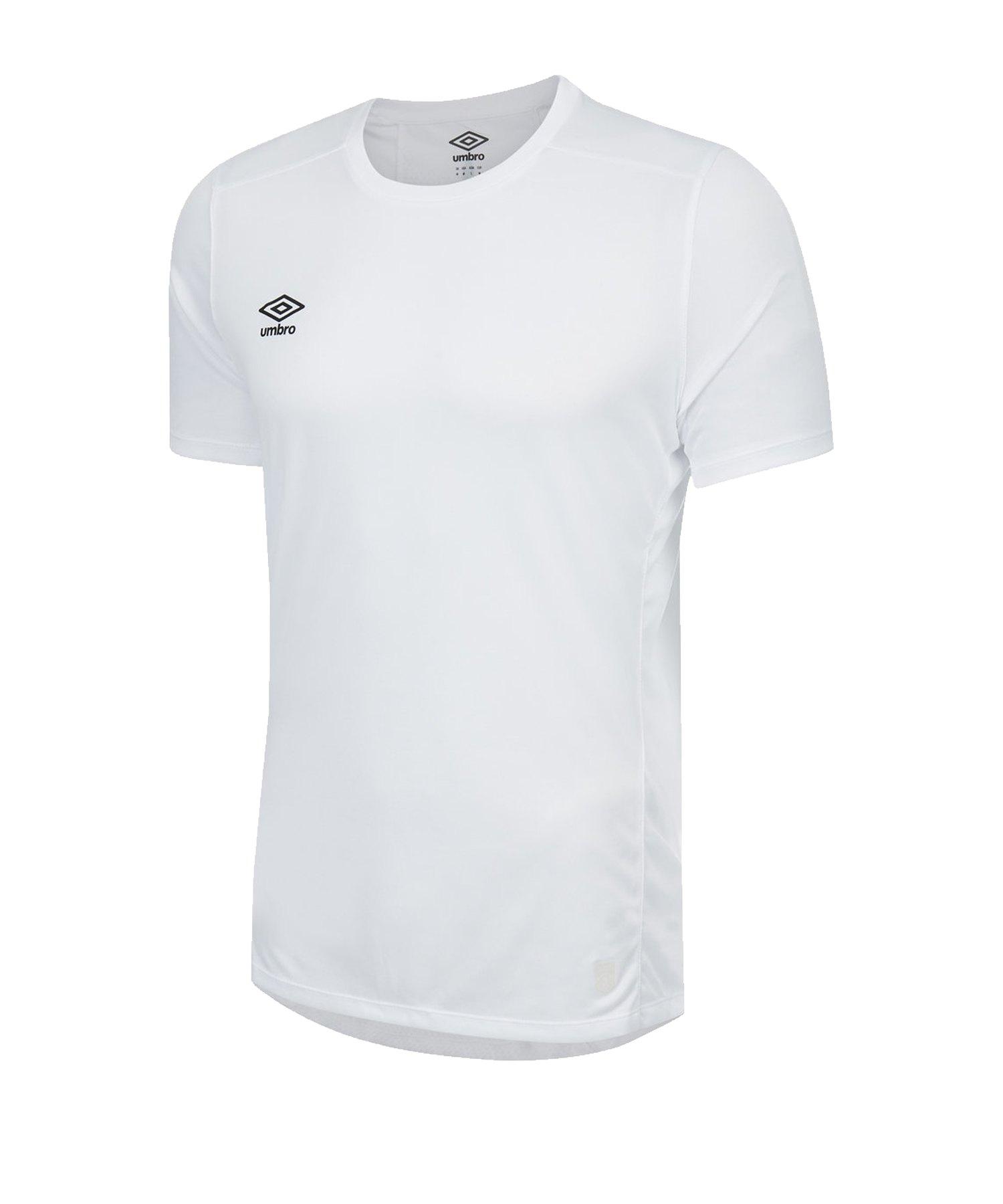 Umbro Silo Training T-Shirt Weiss F13V - weiss