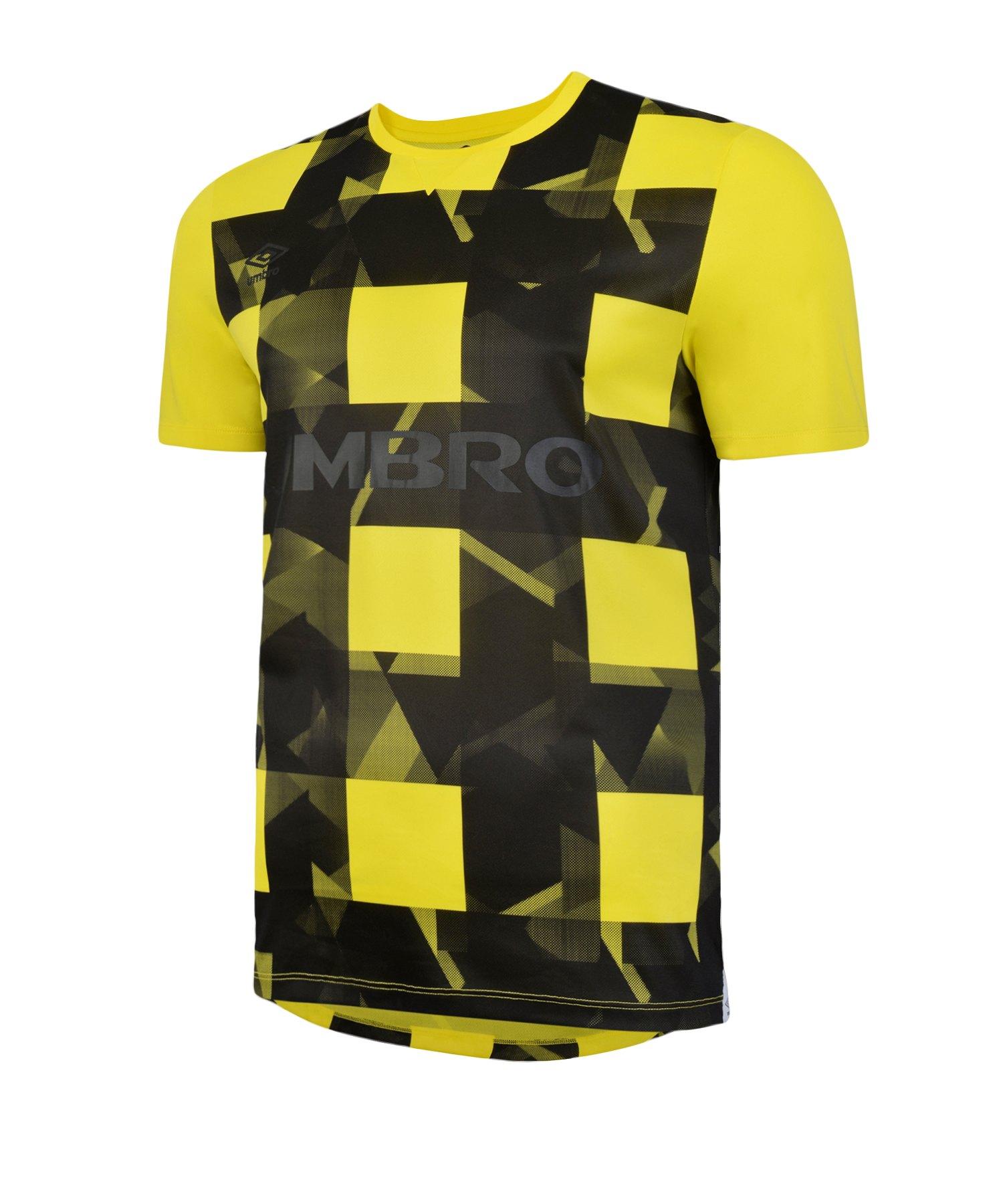 Umbro SSG Game Day T-Shirt Gelb FAST - gelb