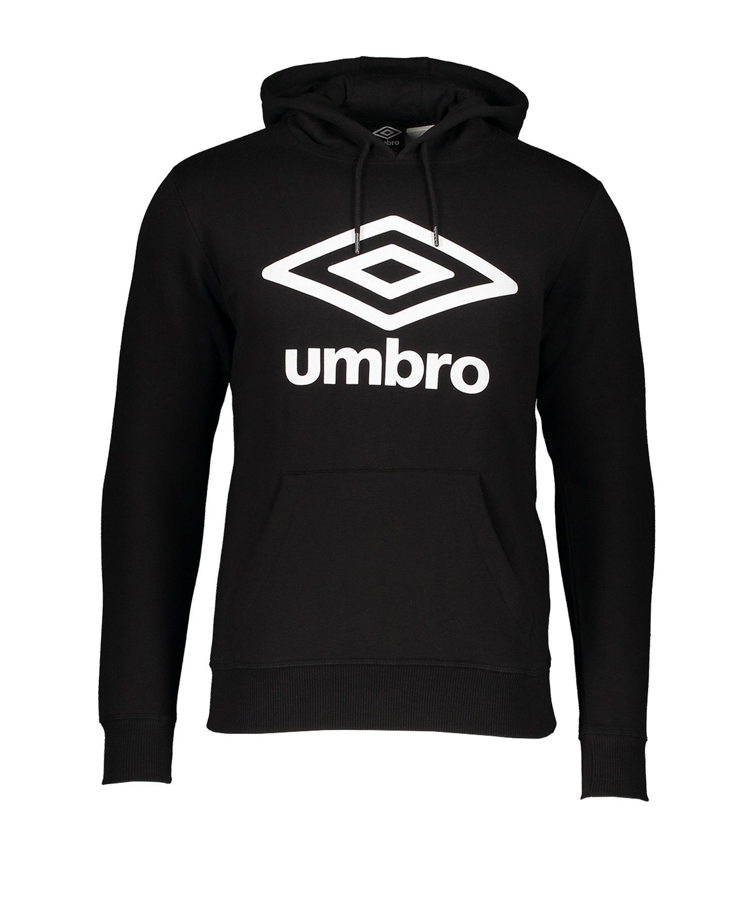 Umbro FW Large Logo Kapuzensweatshirt F060 - schwarz