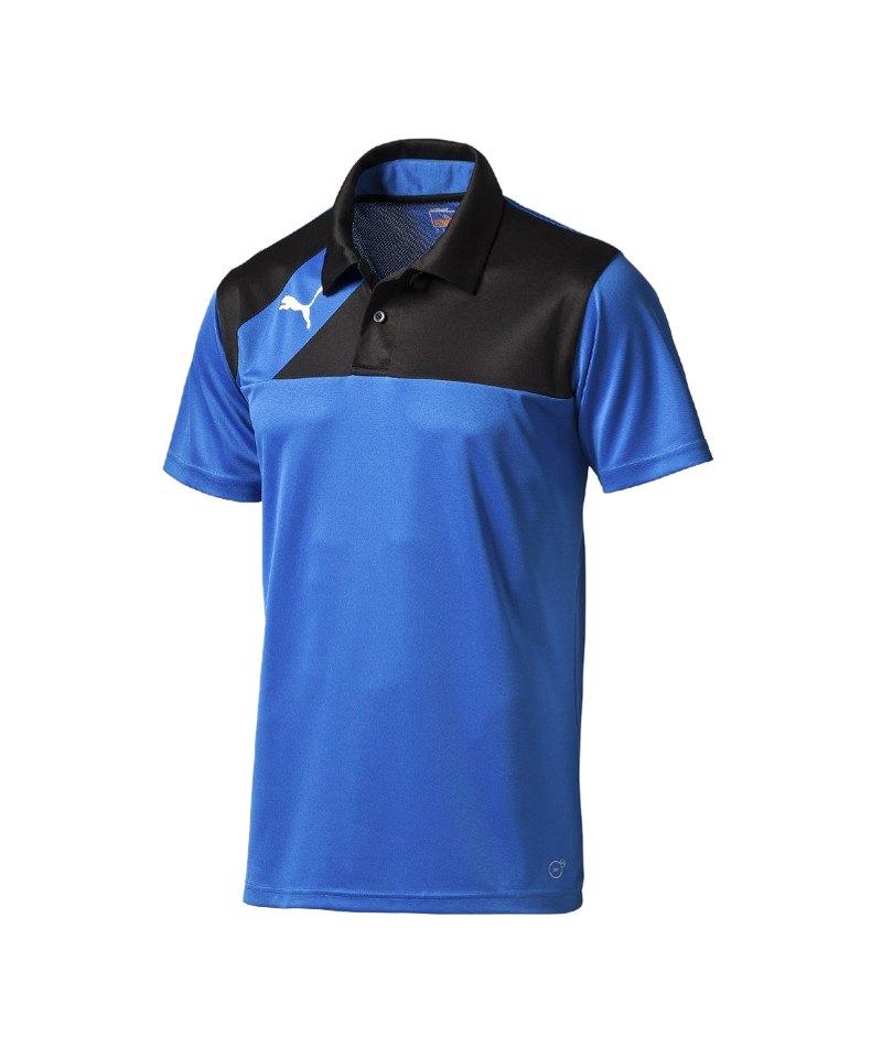PUMA Poloshirt Esquadra Blau F23 - blau