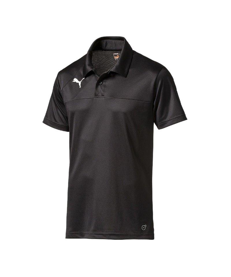 PUMA Poloshirt Esquadra Schwarz F27 - schwarz