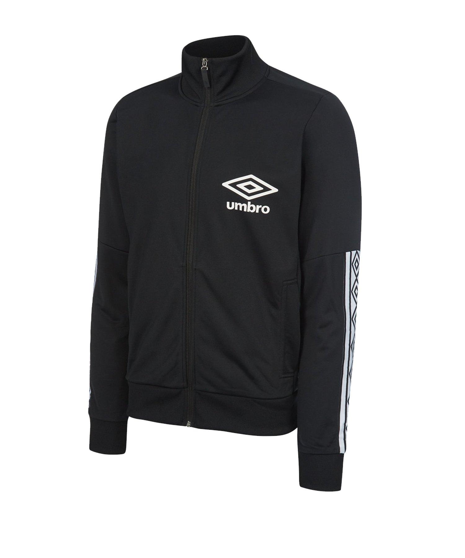 Umbro Track Jacket Jacke Schwarz F060 - schwarz