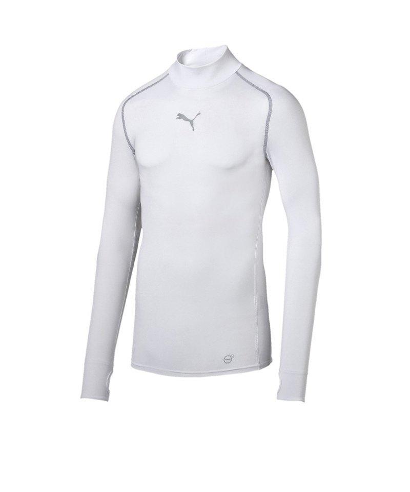 PUMA Shirt TB Longsleeve Warm Mock Weiss F04 - weiss