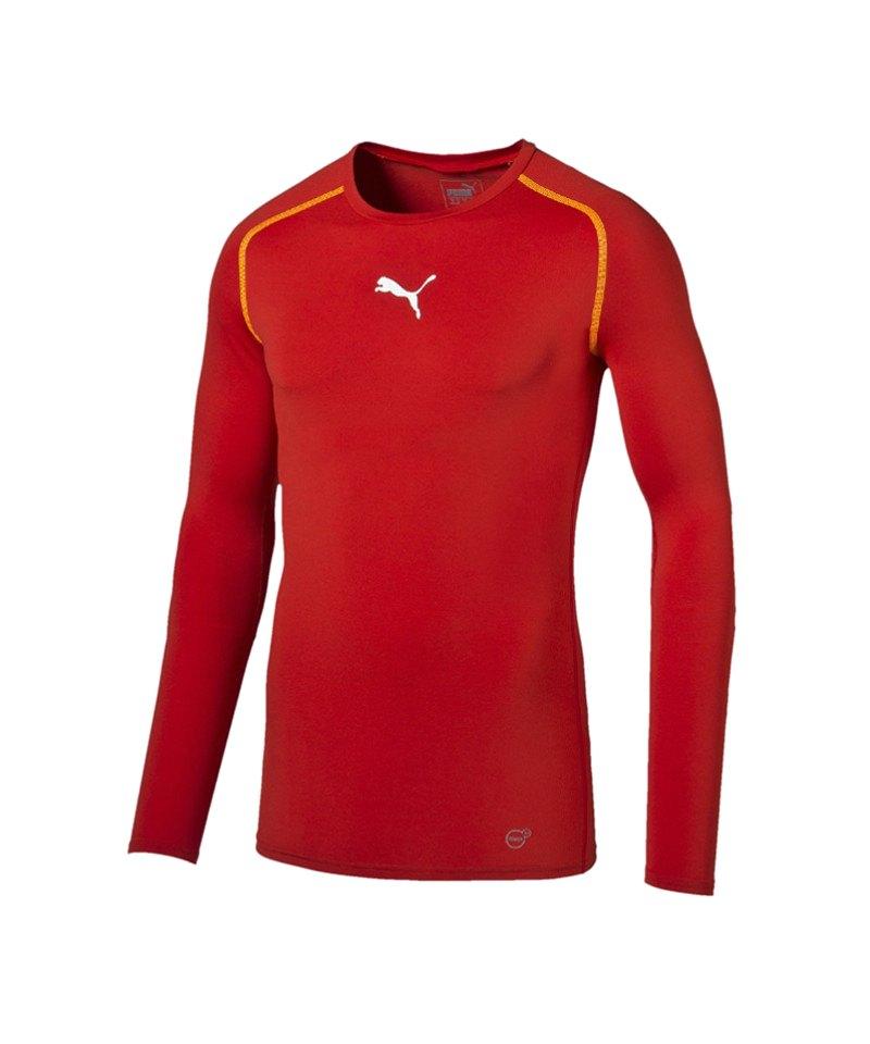 PUMA Longsleeve Shirt TB Rot F01 - rot