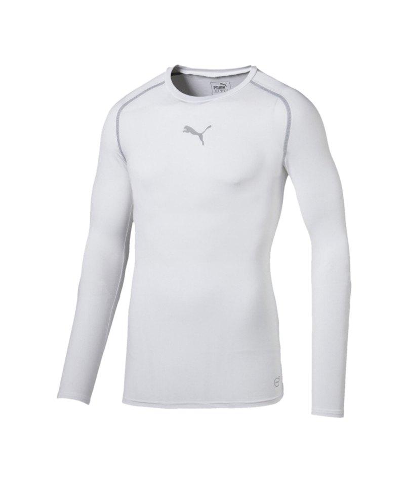 PUMA Longsleeve Shirt TB Weiss F04 - weiss