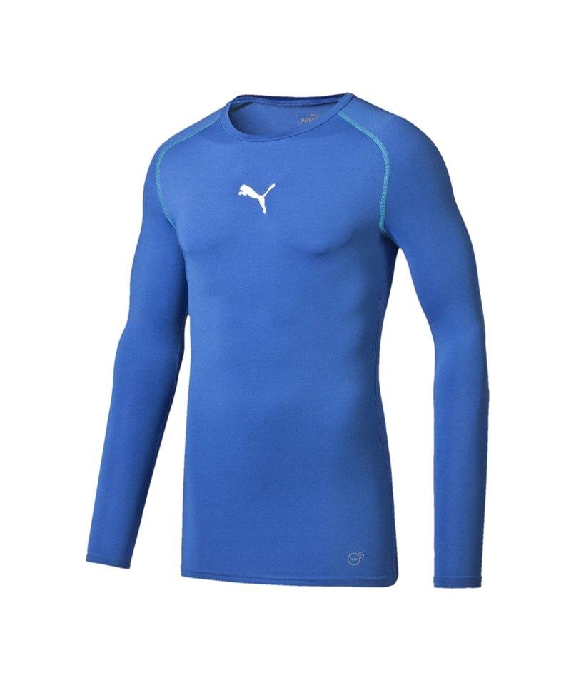 PUMA Shirt TB Longsleeve Blau F02 - blau