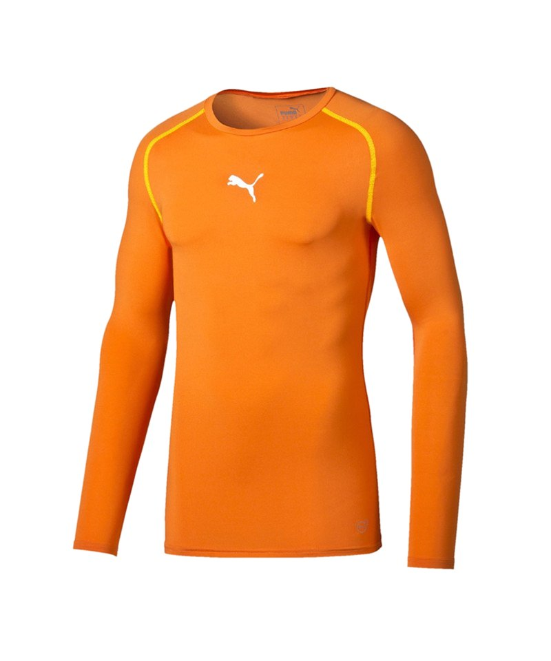 PUMA Shirt TB Longsleeve Orange F08 - orange
