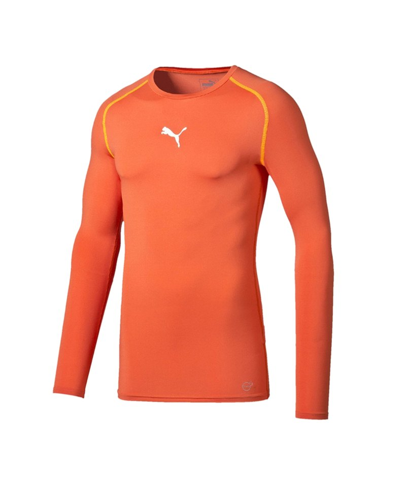 PUMA Shirt TB Longsleeve Orange F13 - orange