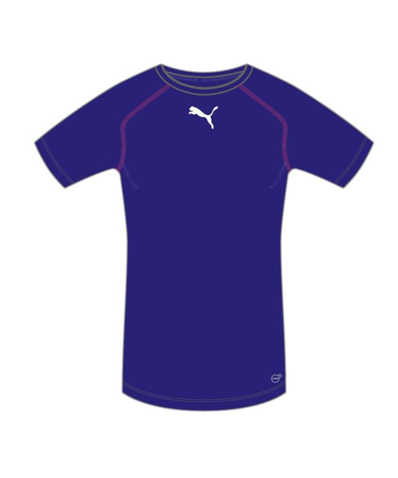 PUMA TB Shortsleeve Shirt Lila F10 - lila