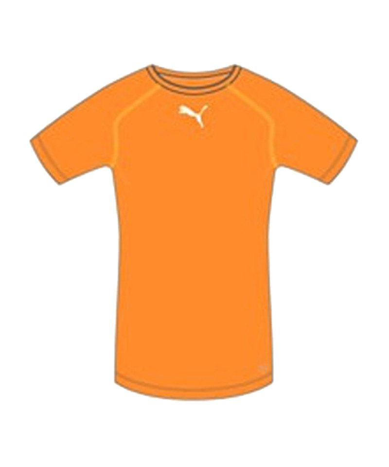 PUMA TB Shortsleeve Shirt Orange F08 - orange