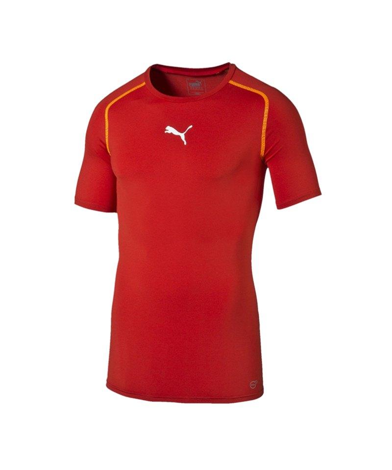 PUMA TB Shortsleeve Shirt Rot F01 - rot