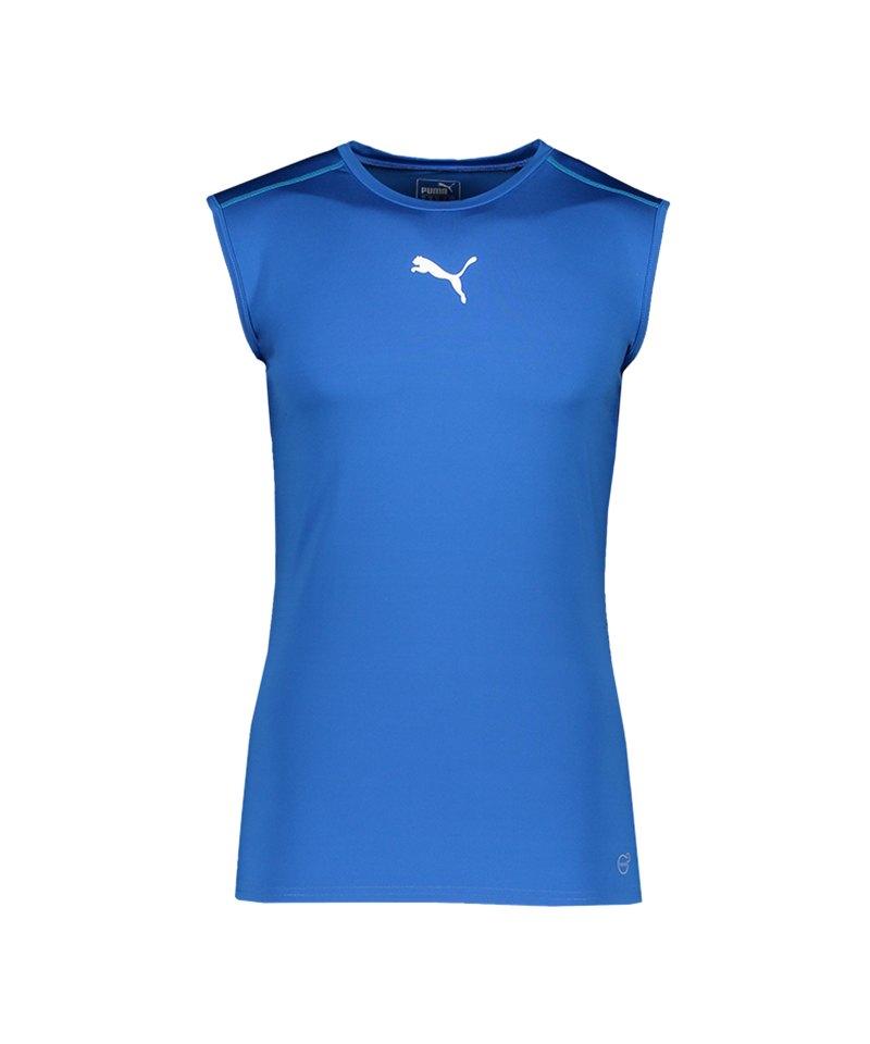 PUMA TB Sleeveless Shirt Blau F02 - blau
