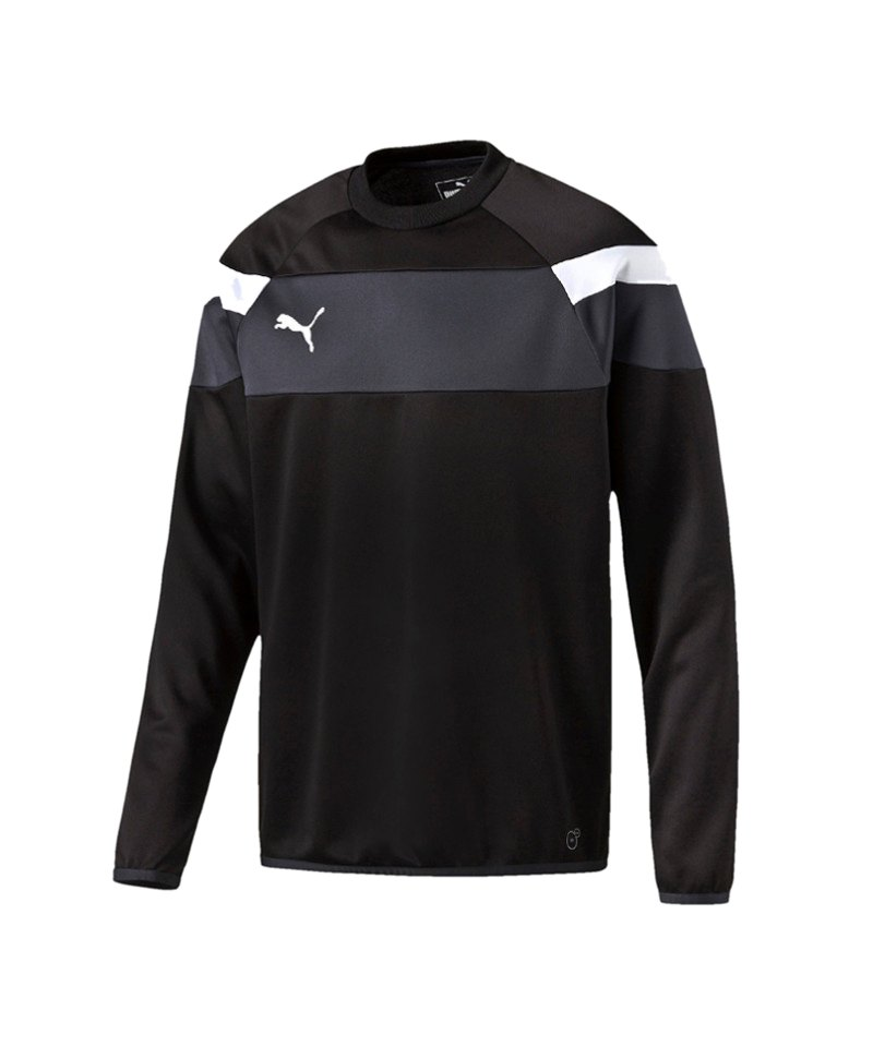PUMA Spirit II Training Sweatshirt Kids F03 - schwarz