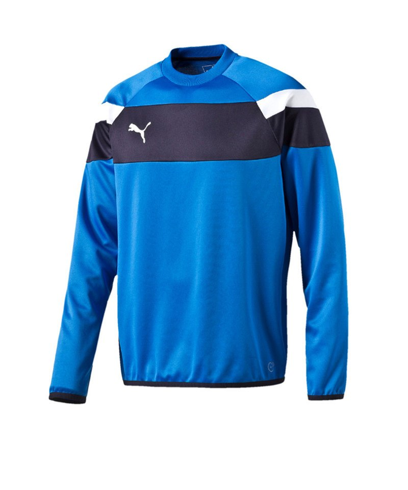 PUMA Sweatshirt Training Spirit II Blau Weiss F02 - blau