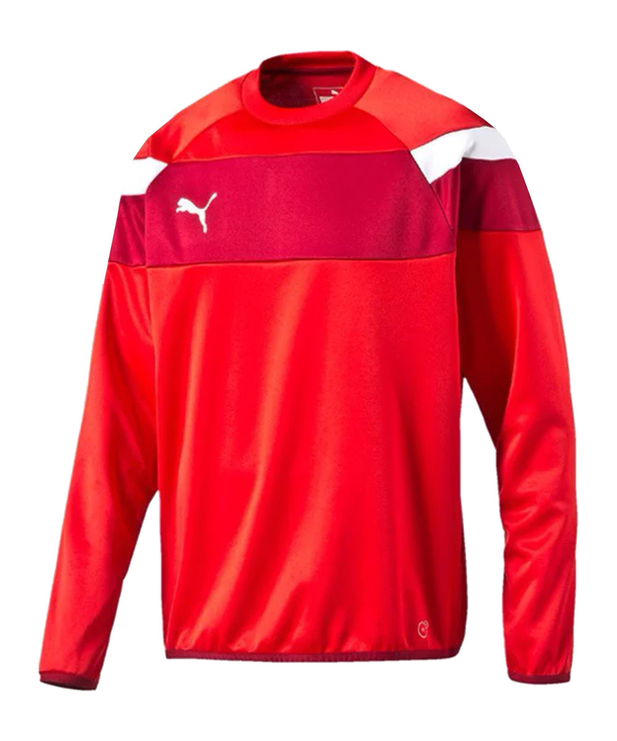 PUMA Sweatshirt Training Spirit II Rot Weiss F01 - rot