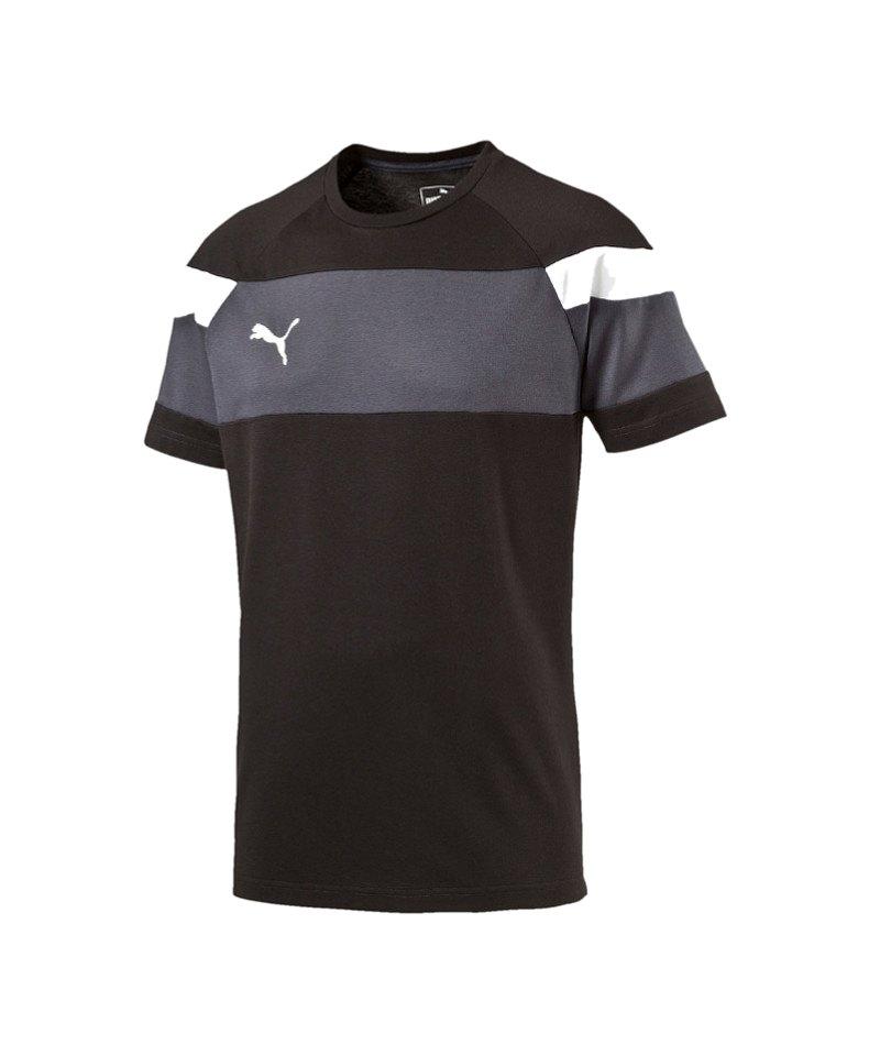 PUMA Spirit II Leisure T-Shirt Kids Schwarz F03 - schwarz