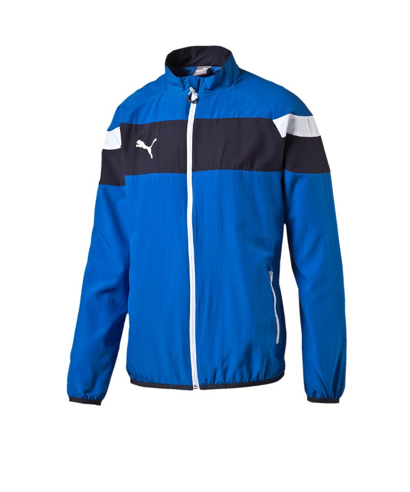 PUMA Woven Jacke Spirit II Blau Weiss F02 - blau