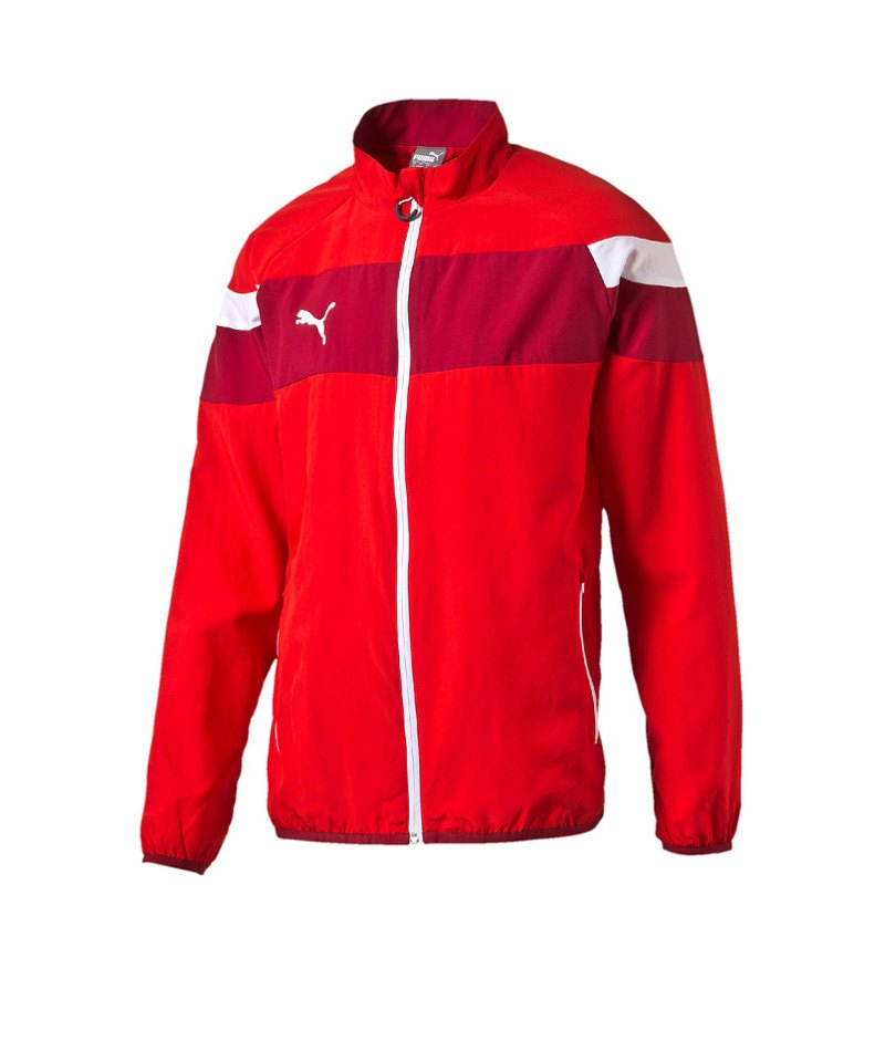 PUMA Woven Jacke Spirit II Rot Weiss F01 - rot