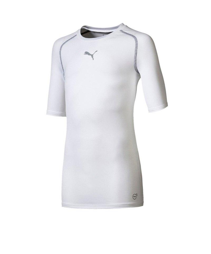 PUMA TB Shortsleeve Shirt Kids Weiss F04 - weiss