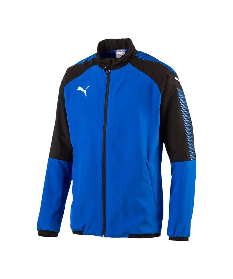 PUMA Trainingsjacke Ascension Woven Blau F02 - blau
