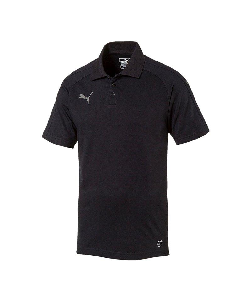 PUMA Poloshirt Ascension Schwarz F60 - schwarz
