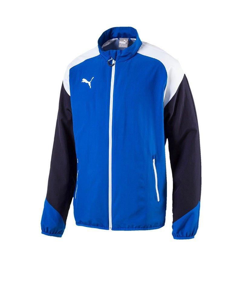 PUMA Trainingsjacke Esito 4 Woven Blau Weiss F02 - blau