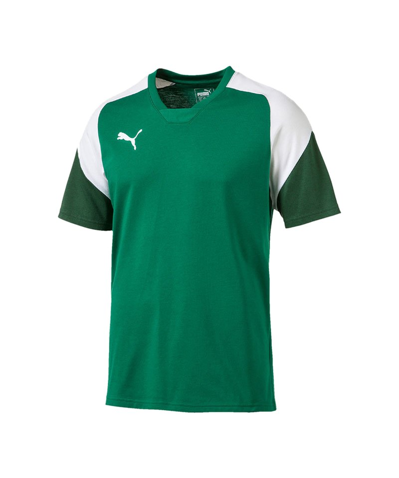 PUMA T-Shirt Esito 4 Tee Grün Weiss F05 - gruen