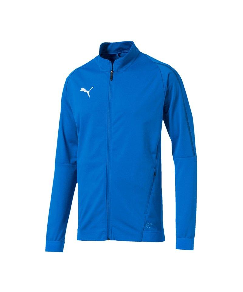 PUMA FINAL Training Trainingsjacke Blau F02 - blau