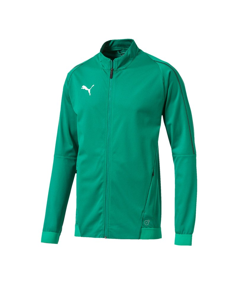 PUMA FINAL Training Trainingsjacke Grün F05 - gruen
