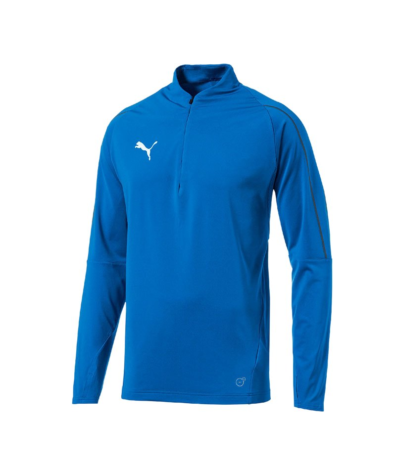 PUMA FINAL Training 1/4 Zip Top Blau F02 - blau