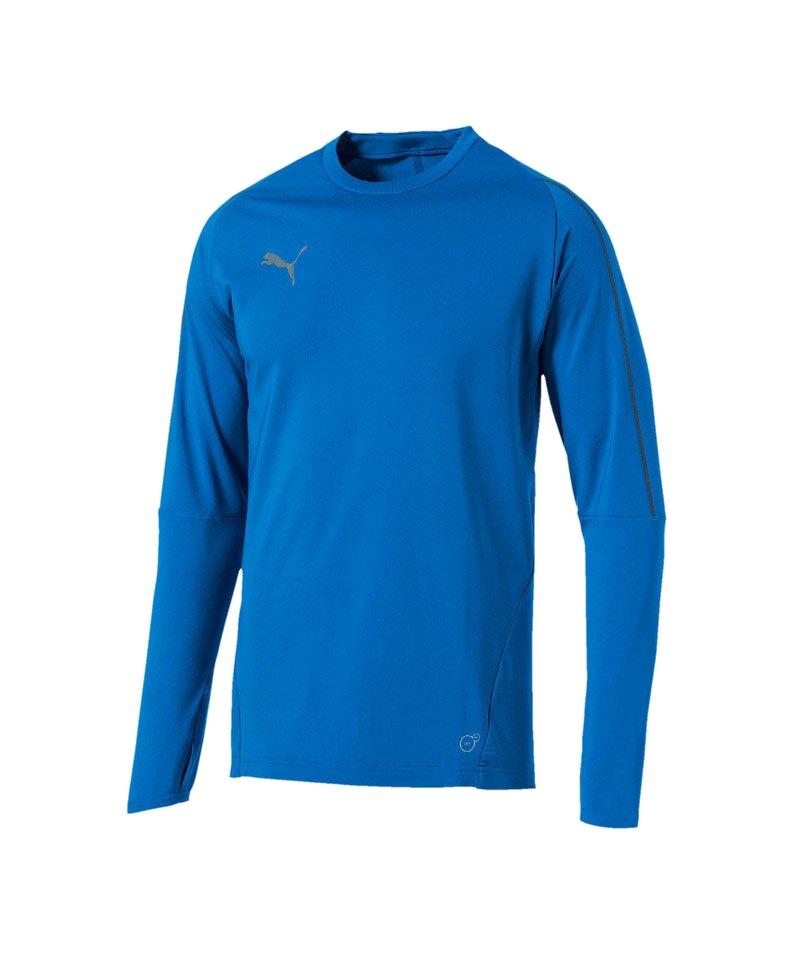 PUMA FINAL Training Sweatshirt Blau F02 - blau