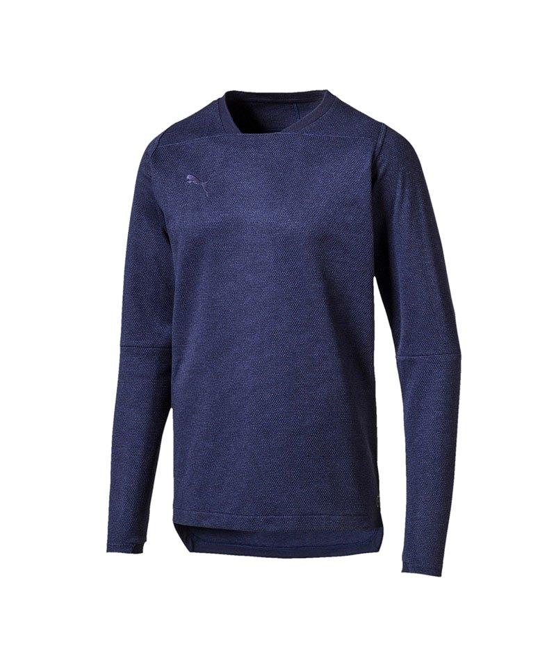 PUMA FINAL Casuals Sweatshirt Blau F36 - blau