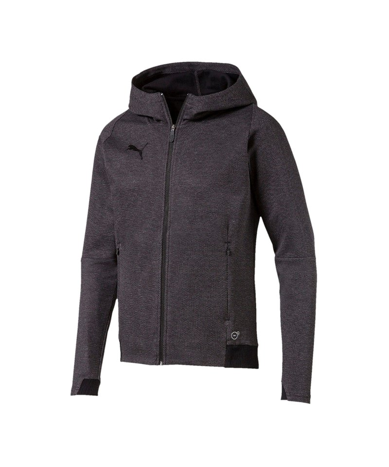 PUMA FINAL Casuals Hooded Jacke Grau F33 - grau