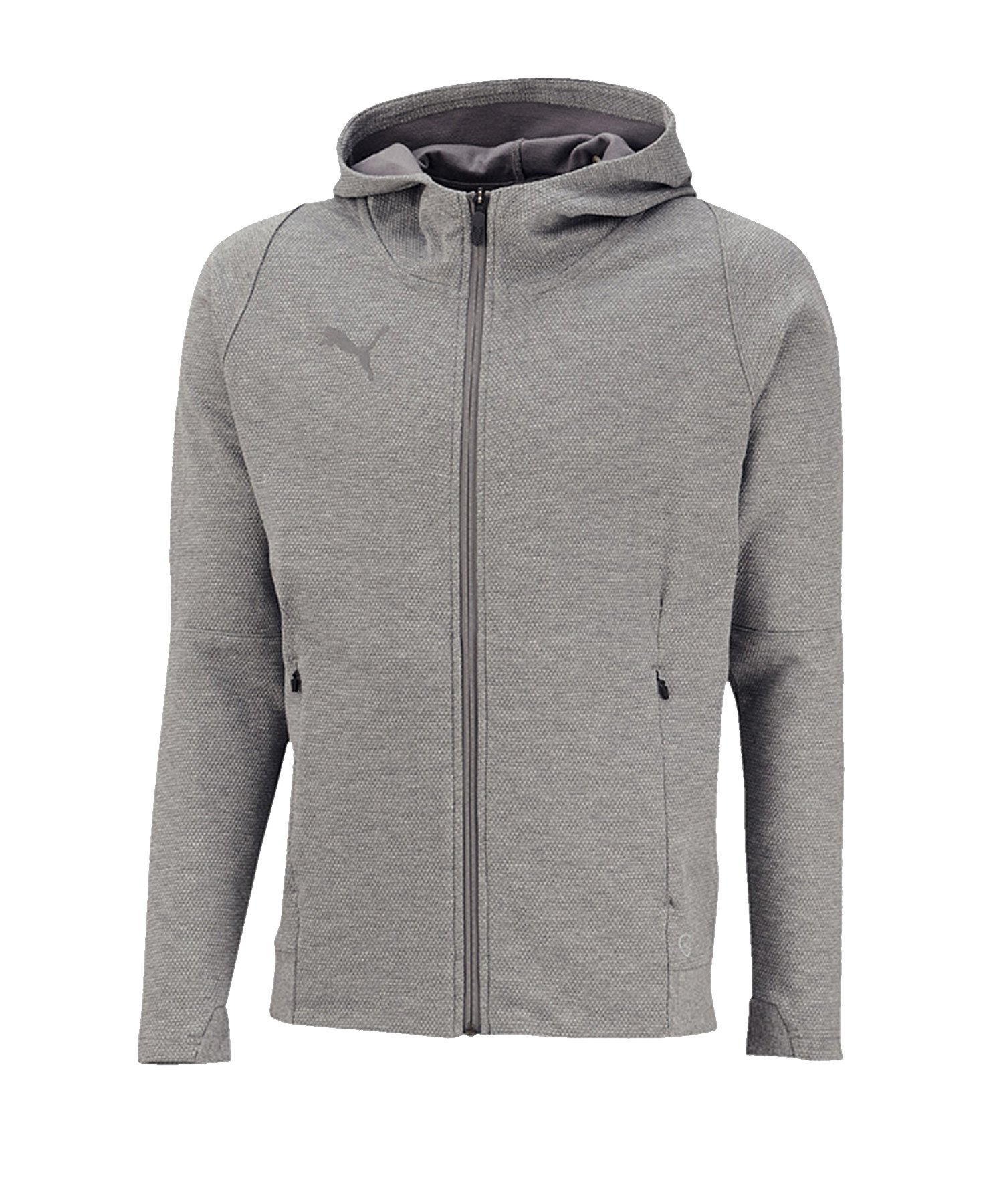 PUMA FINAL Casuals Hooded jacke Grau F37 - grau