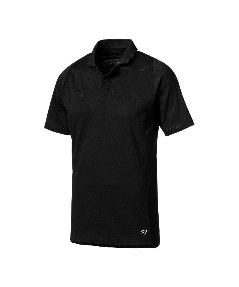 PUMA FINAL Casuals Poloshirt Schwarz F03 - schwarz