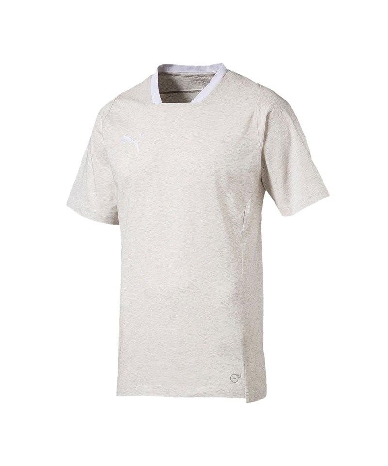 PUMA FINAL Casuals Tee T-Shirt Beige F38 - beige
