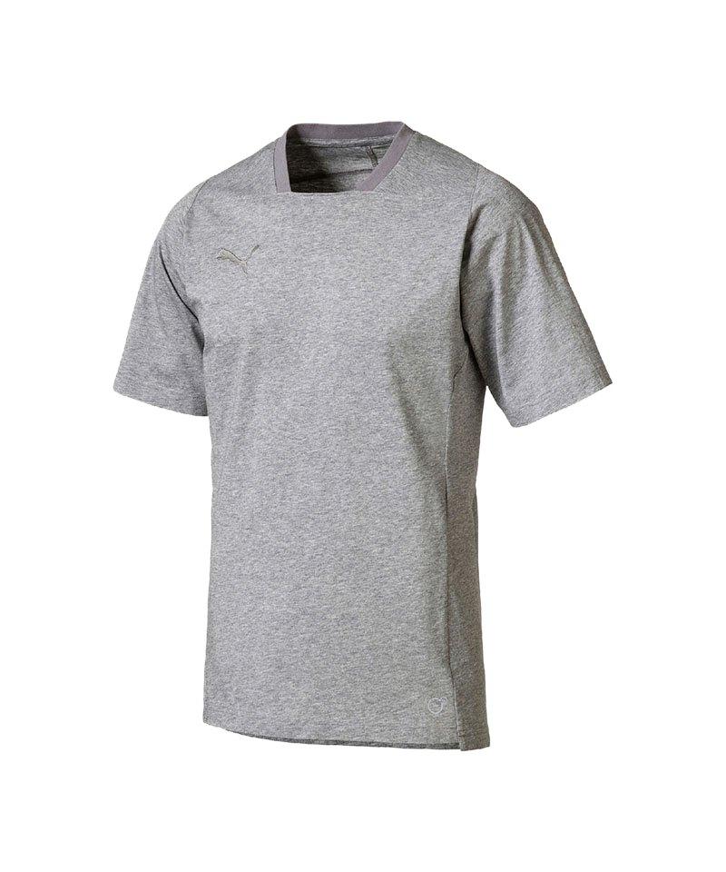 PUMA FINAL Casuals Tee T-Shirt Grau F37 - grau