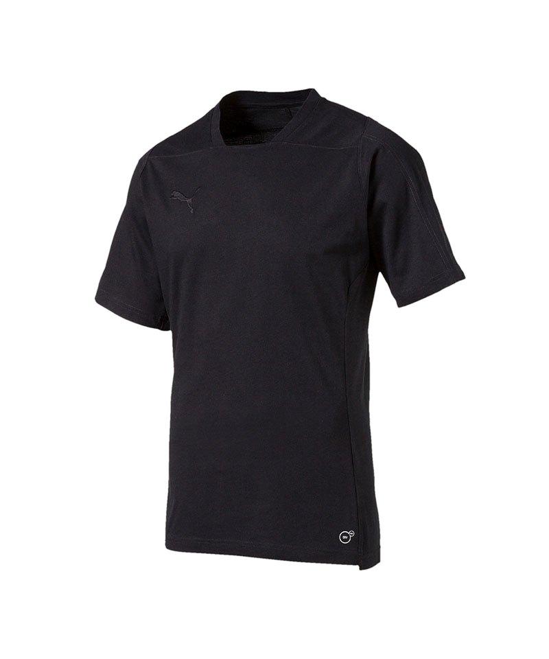 PUMA FINAL Casuals Tee T-Shirt Schwarz F03 - schwarz