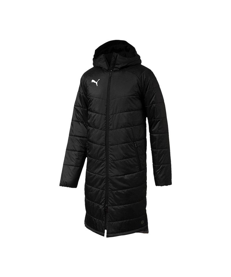 PUMA LIGA Sideline Bench Jacket Long Coach F03 - schwarz
