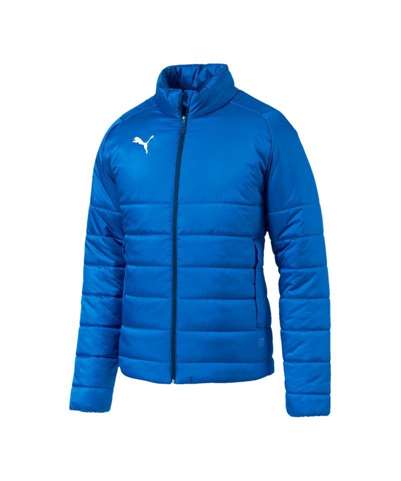 PUMA LIGA Casuals Padded Jacket Jacke Blau F002 - blau