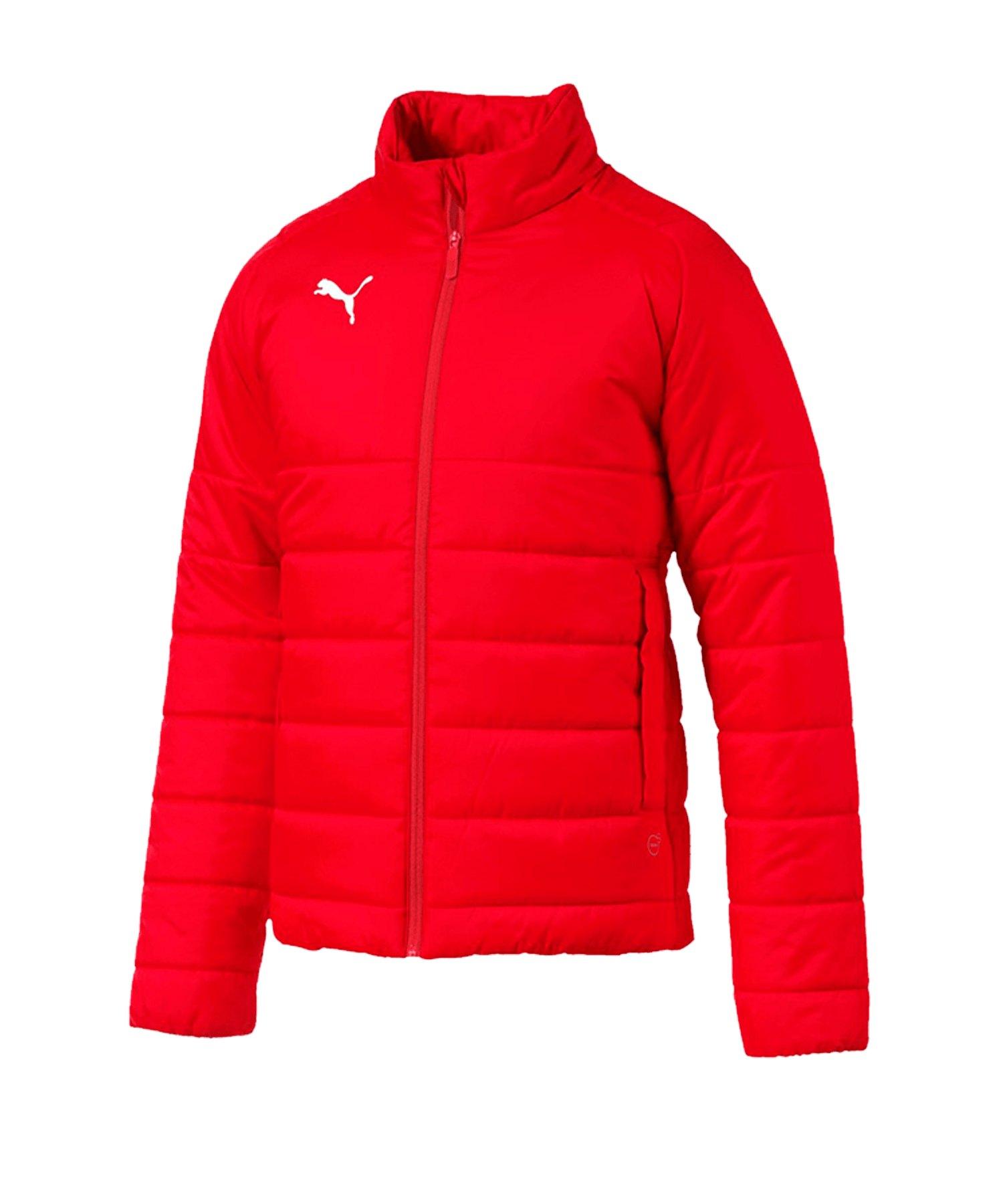 PUMA LIGA Casuals Padded Jacket Jacke Rot F001 - rot