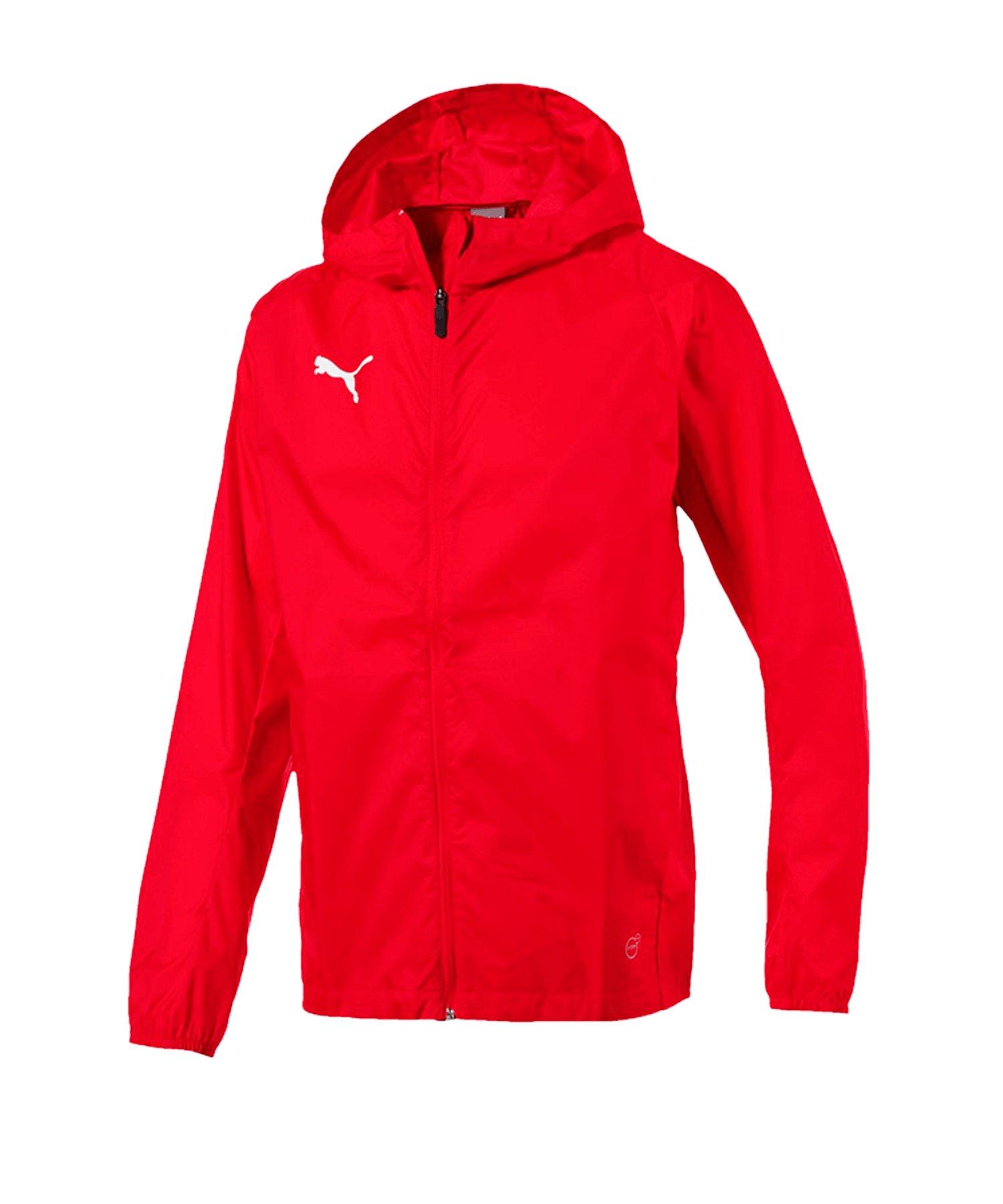PUMA LIGA Training Rain Jacket Jacke Rot F01 - rot