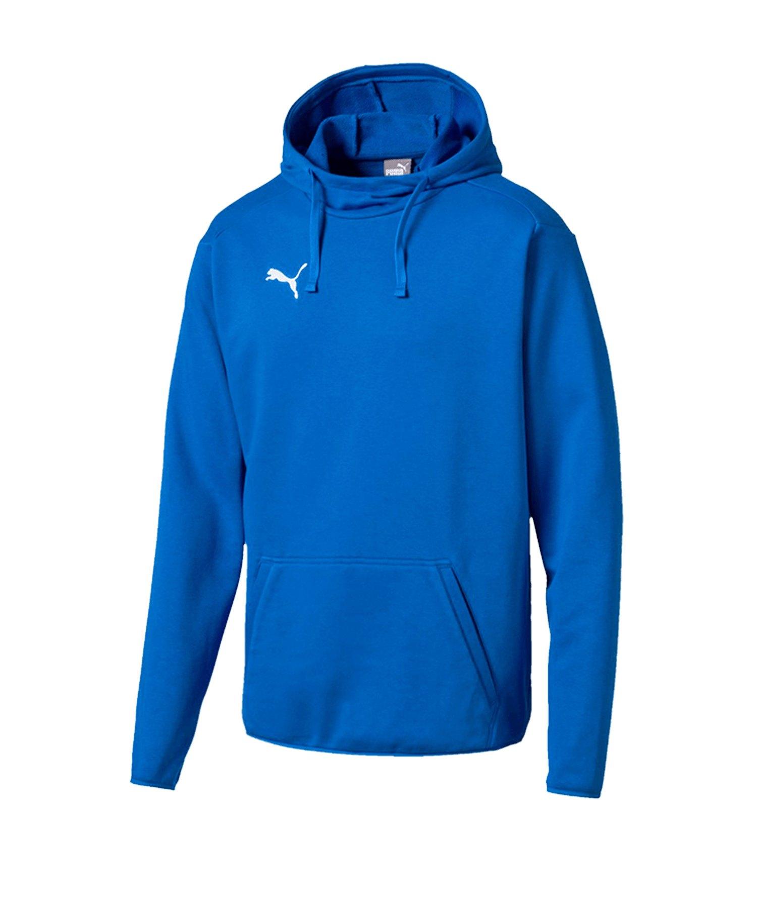 PUMA LIGA Casuals Hoody Blau Weiss F02 - blau