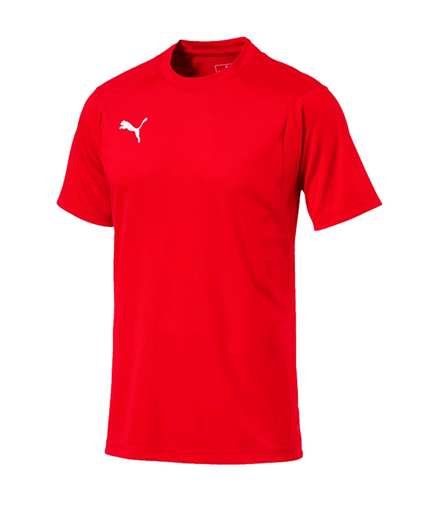 PUMA LIGA Training T-Shirt Rot Weiss F01 - rot